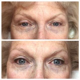 Upper and Lower Eye Liner
